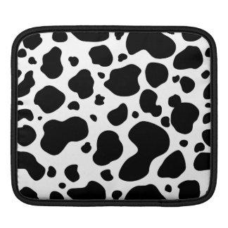 Housse Pour iPad Poster de animal noir et blanc de motif de taches