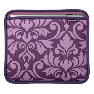 Housse Pour iPad Rose de l'art I de damassé de Flourish sur la