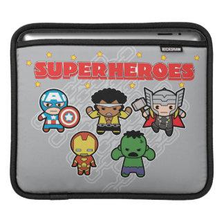 Housse Pour iPad Superhéros de merveille de Kawaii