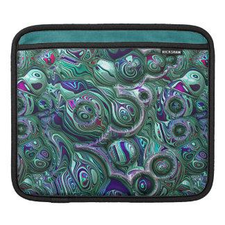 Housse Pour iPad Tache floue colorée du résumé 3D