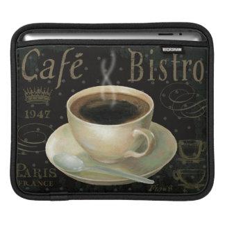 Housse Pour iPad Tasse de café noire