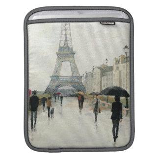 Housse Pour iPad Tour Eiffel | Paris sous la pluie