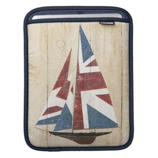 Housse Pour iPad Voilier britannique de drapeau