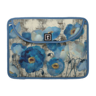 Housse Pour Macbook Aigue-marine florale