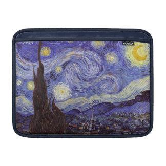 Housse Pour Macbook Air Beaux-arts de cru de nuit étoilée de Vincent van