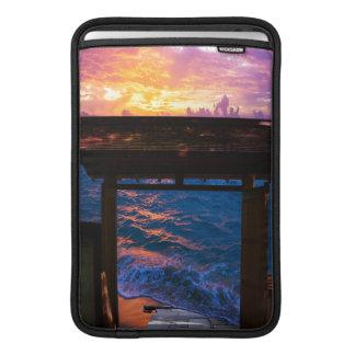 Housse Pour Macbook Air Coucher du soleil à la baie de paradis