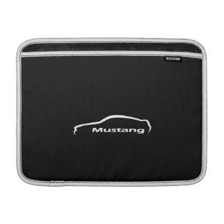 Housse Pour Macbook Air Douille d'air de Macbook de logo de silhouette de