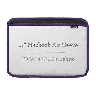 Housse Pour Macbook Air Douille d'air personnalisée de 11in Macbook