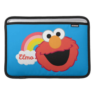 Housse Pour Macbook Air Fille d'Elmo