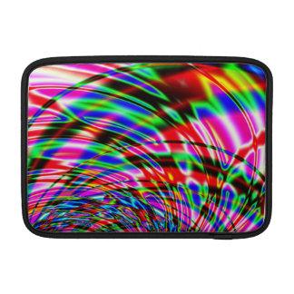 Housse Pour Macbook Air Fractale colorée de l'eau