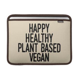 Housse Pour Macbook Air Le plante sain heureux a basé le végétalien (le