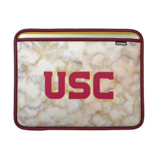 Housse Pour Macbook Air Marbre rose d'or des Trojan | d'USC