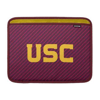 Housse Pour Macbook Air Motif de fibre des Trojan | d'USC