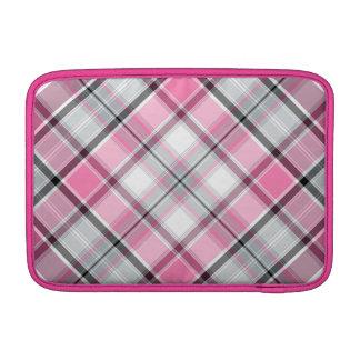 Housse Pour Macbook Air Motif rose de plaid chic