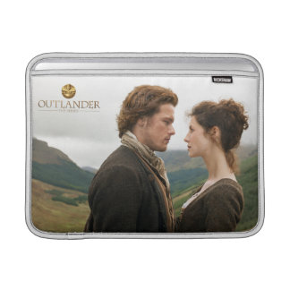 Housse Pour Macbook Air Outlander | Jamie et Claire faces à face
