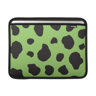 Housse Pour Macbook Air Poster de animal (copie de vache), taches de vache