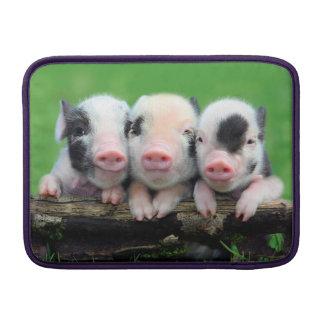 Housse Pour Macbook Air Trois petits porcs - porc mignon - trois porcs