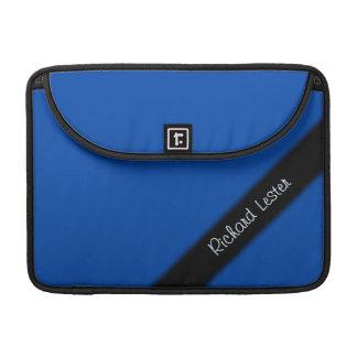 Housse Pour Macbook Bleu de cobalt personnel