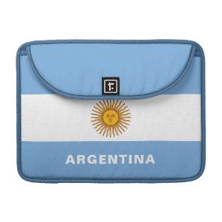 Housse Pour Macbook Douille de MacBook de drapeau de l'Argentine pro