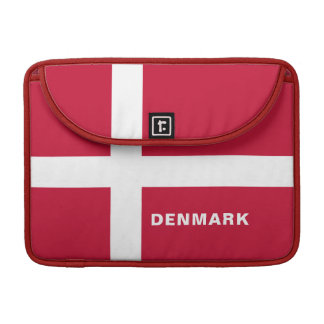 Housse Pour Macbook Douille de MacBook de drapeau du Danemark pro