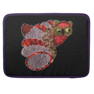 Housse Pour Macbook Douille de Macbook de hibou pro