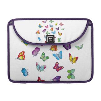 Housse Pour Macbook douille de Macbook du néoprène de papillon