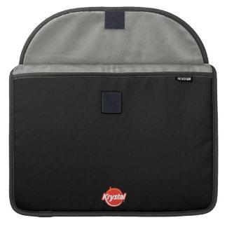 Housse Pour Macbook Douille de MacBook Pro de logo de Krystal