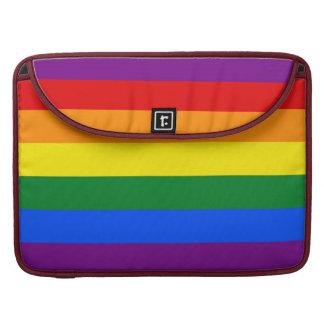 Housse Pour Macbook Drapeau de gay pride d'arc-en-ciel