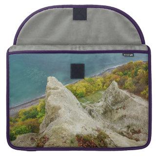Housse Pour Macbook Falaises de craie sur l'île Ruegen