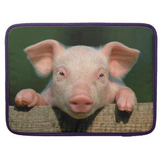 Housse Pour Macbook Ferme de porc - visage de porc