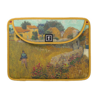 Housse Pour Macbook Ferme de Vincent van Gogh | en Provence, 1888