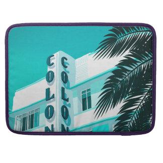 Housse Pour Macbook Hôtel Miami de colonie