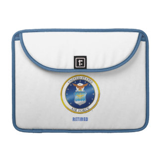Housse Pour Macbook Macbook retiré parU.S. Air Force enferment