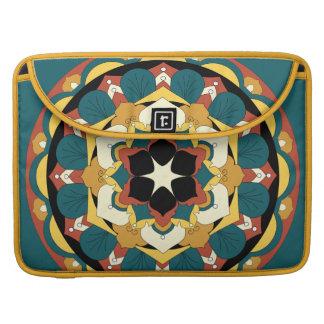 Housse Pour Macbook Mandala floral coloré 060517_4