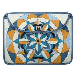 Housse Pour Macbook Mandala floral géométrique coloré 060517_2