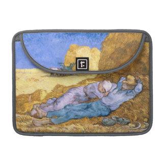 Housse Pour Macbook Midi de Vincent van Gogh |, la sièste, après