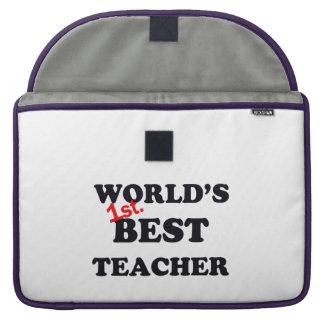 Housse Pour Macbook Monde ęr. Le meilleur professeur
