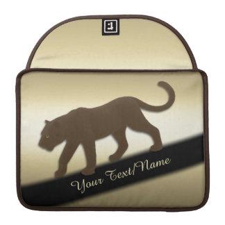 Housse Pour Macbook Panthère de la Floride sur l'or personnel