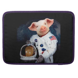 Housse Pour Macbook Porc d'astronaute - astronaute de l'espace