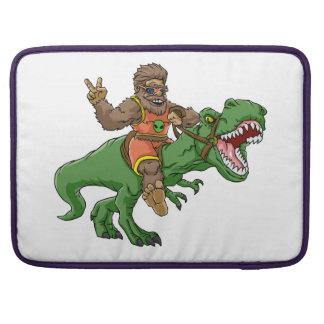 Housse Pour Macbook rex Bigfoot de rex-T de la Bigfoot-bande dessinée
