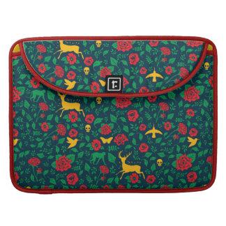 Housse Pour Macbook Symboles de la vie de Frida Kahlo  