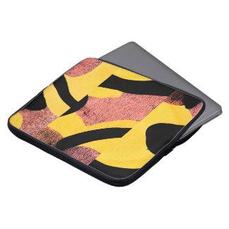 Housse Pour Ordinateur Portable Abstraction rose