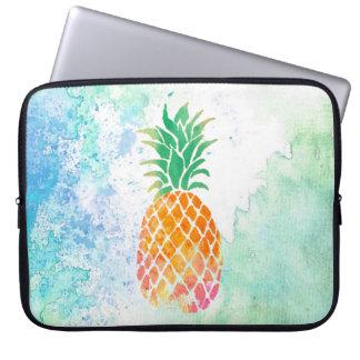 Housse Pour Ordinateur Portable ananas d'aquarelle