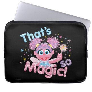 Housse Pour Ordinateur Portable Baguette magique d'Abby Cadabby