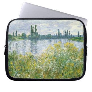 Housse Pour Ordinateur Portable Banques de Claude Monet | de la Seine, Vetheuil,