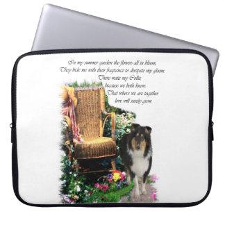 Housse Pour Ordinateur Portable Cadeaux rugueux d'art de colley de tri couleur