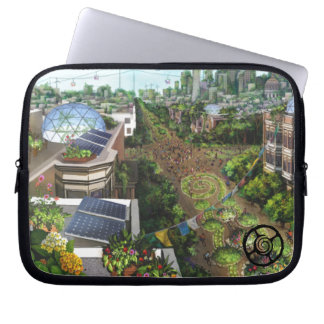 Housse Pour Ordinateur Portable Cas de médias de San Francisco 2048