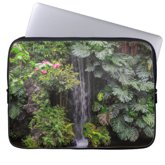 Housse Pour Ordinateur Portable Cascade de jardin luxuriant, Chine