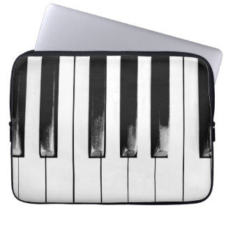 Housse Pour Ordinateur Portable Clés antiques de piano