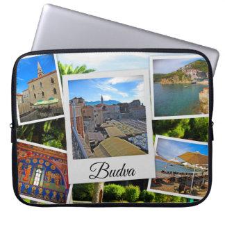 Housse Pour Ordinateur Portable Collage de Budva Monténégro